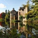 An image of Scotney Castle in Kent.